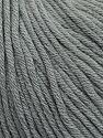 Fiber Content 50% Cotton, 50% Acrylic, Brand Ice Yarns, Grey, fnt2-71167