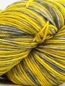 Please note that this is a hand-dyed yarn. Colors in different lots may vary because of the charateristics of the yarn. Also see the package photos for the colorway in full; as skein photos may not show all colors. Fiber Content 75% Superwash Merino Wool, 25% Polyamide, Yellow Shades, Brand Ice Yarns, Grey Shades, fnt2-71171