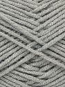 Fiber Content 50% Bamboo, 50% Acrylic, Light Grey, Brand Ice Yarns, fnt2-71355