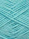 Fiber Content 50% Bamboo, 50% Acrylic, Light Turquoise, Brand Ice Yarns, fnt2-71380