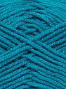 Fiber Content 50% Bamboo, 50% Acrylic, Turquoise, Brand Ice Yarns, fnt2-71381