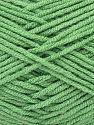 Fiber Content 50% Bamboo, 50% Acrylic, Light Green, Brand Ice Yarns, fnt2-71385