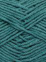 Fiber Content 50% Bamboo, 50% Acrylic, Turquoise, Brand Ice Yarns, fnt2-71387