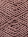 Fiber Content 50% Bamboo, 50% Acrylic, Brand Ice Yarns, Antique Pink, fnt2-71388