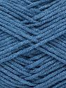 Fiber Content 50% Bamboo, 50% Acrylic, Jeans Blue, Brand Ice Yarns, fnt2-71389