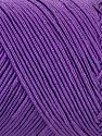 Fiber Content 70% Polyester, 30% Cotton, Violet, Brand Ice Yarns, fnt2-71402