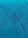 Fiber Content 70% Polyester, 30% Cotton, Turquoise, Brand Ice Yarns, fnt2-71406