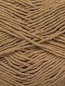 Fiber Content 100% Cotton, Brand Ice Yarns, Cafe Latte, fnt2-71409
