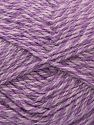 Fiber Content 50% Acrylic, 30% Wool, 20% Mohair, Lilac Shades, Brand Ice Yarns, fnt2-71487