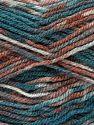 Fiber Content 100% Acrylic, Turquoise, Salmon, Maroon, Brand Ice Yarns, fnt2-71501