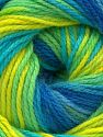 Fiber Content 100% Acrylic, Turquoise, Brand Ice Yarns, Green Shades, Blue Shades, fnt2-71514