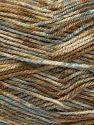 Fiber Content 100% Acrylic, Indigo Blue, Brand Ice Yarns, Cream, Brown Shades, fnt2-71574
