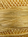 Fiber Content 100% Micro Fiber, Yellow, Brand YarnArt, Yarn Thickness 0 Lace  Fingering Crochet Thread, fnt2-17310
