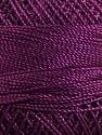 Fiber Content 100% Micro Fiber, Brand YarnArt, Maroon, Yarn Thickness 0 Lace  Fingering Crochet Thread, fnt2-17328