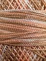 Fiber Content 100% Micro Fiber, Brand YarnArt, White, Salmon, Brown, Yarn Thickness 0 Lace  Fingering Crochet Thread, fnt2-17338