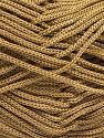 Width is 3 mm Fiber Content 100% Polyester, Yarn Thickness Other, Brand ICE, Camel Brown, fnt2-21640