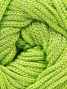 Width is 3 mm Fiber Content 100% Polyester, Yarn Thickness Other, Brand ICE, Green, fnt2-21643