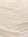 Fiber Content 100% Acrylic, White, Brand ICE, Yarn Thickness 3 Light  DK, Light, Worsted, fnt2-22404
