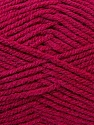 Worsted  Fiber Content 100% Acrylic, Brand ICE, Dark Pink, Yarn Thickness 4 Medium  Worsted, Afghan, Aran, fnt2-23731