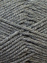 Bulky  Fiber Content 100% Acrylic, Brand ICE, Grey, Yarn Thickness 5 Bulky  Chunky, Craft, Rug, fnt2-23747