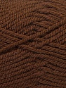 Bulky  Fiber Content 100% Acrylic, Brand ICE, Brown, Yarn Thickness 5 Bulky  Chunky, Craft, Rug, fnt2-23749