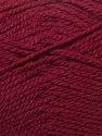 Bulky  Fiber Content 100% Acrylic, Brand ICE, Burgundy, Yarn Thickness 5 Bulky  Chunky, Craft, Rug, fnt2-23753