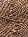 Fiber Content 100% Mercerised Cotton, Brand ICE, Camel, Yarn Thickness 2 Fine  Sport, Baby, fnt2-23786