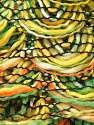 Fiber Content 90% Acrylic, 10% Polyester, Yellow, Orange, Brand ICE, Green, Yarn Thickness 6 SuperBulky  Bulky, Roving, fnt2-24127