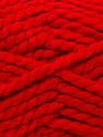 SuperBulky  Fiber Content 55% Acrylic, 45% Wool, Red, Brand ICE, Yarn Thickness 6 SuperBulky  Bulky, Roving, fnt2-24943