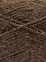 Fiber Content 70% Dralon, 30% Alpaca, Brand ICE, Brown, Yarn Thickness 4 Medium  Worsted, Afghan, Aran, fnt2-25375