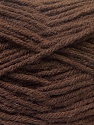 Fiber Content 70% Dralon, 30% Alpaca, Brand ICE, Dark Brown, Yarn Thickness 4 Medium  Worsted, Afghan, Aran, fnt2-25376