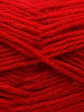 Fiber Content 70% Dralon, 30% Alpaca, Red, Brand Ice Yarns, Yarn Thickness 4 Medium Worsted, Afghan, Aran, fnt2-25377