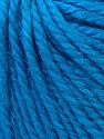 Fiber Content 40% Acrylic, 35% Wool, 25% Alpaca, Turquoise, Brand ICE, Yarn Thickness 5 Bulky  Chunky, Craft, Rug, fnt2-25398