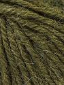 Fiber Content 40% Acrylic, 35% Wool, 25% Alpaca, Brand ICE, Dark Green, Yarn Thickness 5 Bulky  Chunky, Craft, Rug, fnt2-25451
