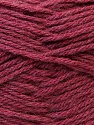 Fiber Content 70% Dralon, 30% Alpaca, Brand Ice Yarns, Burgundy, Yarn Thickness 4 Medium Worsted, Afghan, Aran, fnt2-25668