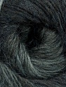 Fiber Content 40% Wool, 30% Acrylic, 30% Mohair, Brand ICE, Grey Shades, Yarn Thickness 3 Light  DK, Light, Worsted, fnt2-27200