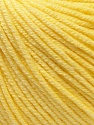 Fiber Content 60% Cotton, 40% Acrylic, Light Yellow, Brand ICE, Yarn Thickness 2 Fine  Sport, Baby, fnt2-32558