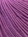 Fiber Content 60% Cotton, 40% Acrylic, Lavender, Brand ICE, Yarn Thickness 2 Fine  Sport, Baby, fnt2-32564