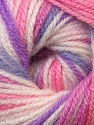 Fiber Content 100% Premium Acrylic, White, Purple, Pink, Lilac, Brand ICE, Yarn Thickness 3 Light  DK, Light, Worsted, fnt2-33394