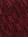 Trellis  Fiber Content 100% Polyester, Brand ICE, Dark Burgundy, Yarn Thickness 5 Bulky  Chunky, Craft, Rug, fnt2-34121