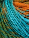 Fiber Content 60% Wool, 40% Acrylic, Turquoise, Purple, Navy, Brand ICE, Green, Gold, Yarn Thickness 4 Medium  Worsted, Afghan, Aran, fnt2-34608