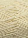 Fiber Content 50% Wool, 50% Acrylic, Brand ICE, Cream, Yarn Thickness 3 Light  DK, Light, Worsted, fnt2-35022
