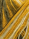 Fiber Content 40% Acrylic, 35% Wool, 25% Alpaca, Yellow, White, Olive Green, Khaki, Brand ICE, Yarn Thickness 2 Fine  Sport, Baby, fnt2-36982