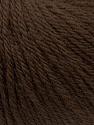 Fiber Content 100% Wool, Brand ICE, Brown, Yarn Thickness 4 Medium  Worsted, Afghan, Aran, fnt2-38002