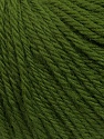 Fiber Content 100% Wool, Brand ICE, Green, Yarn Thickness 4 Medium  Worsted, Afghan, Aran, fnt2-38016
