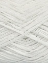 Fiber Content 100% Acrylic, White, Brand ICE, Yarn Thickness 2 Fine  Sport, Baby, fnt2-39927