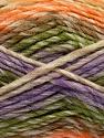 Contenido de fibra 75% Acrílico, 25% Lana, Orange, Lilac, Brand Ice Yarns, Green, Brown, Beige, Yarn Thickness 5 Bulky Chunky, Craft, Rug, fnt2-40820