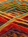 Fiber Content 75% Acrylic, 25% Wool, Yellow, Purple, Orange, Mint Green, Brand ICE, Gold, Yarn Thickness 5 Bulky  Chunky, Craft, Rug, fnt2-40821