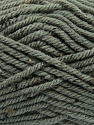 Fiber Content 72% Acrylic, 3% Viscose, 25% Wool, Brand ICE, Grey, Yarn Thickness 6 SuperBulky  Bulky, Roving, fnt2-40834