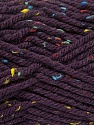 Fiber Content 72% Acrylic, 3% Viscose, 25% Wool, Purple, Brand ICE, Yarn Thickness 6 SuperBulky  Bulky, Roving, fnt2-40844